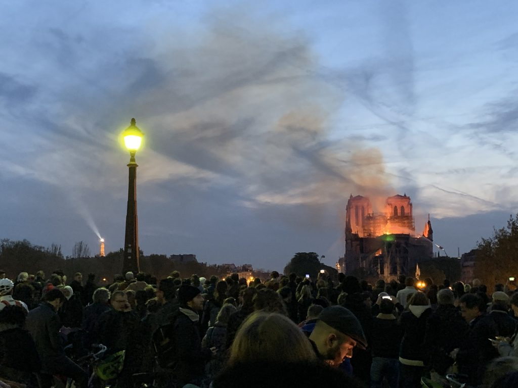 Reflections on the Notre-Dame Cathedral Fire